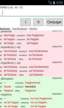Spanish Verb Conjugator screenshot 6