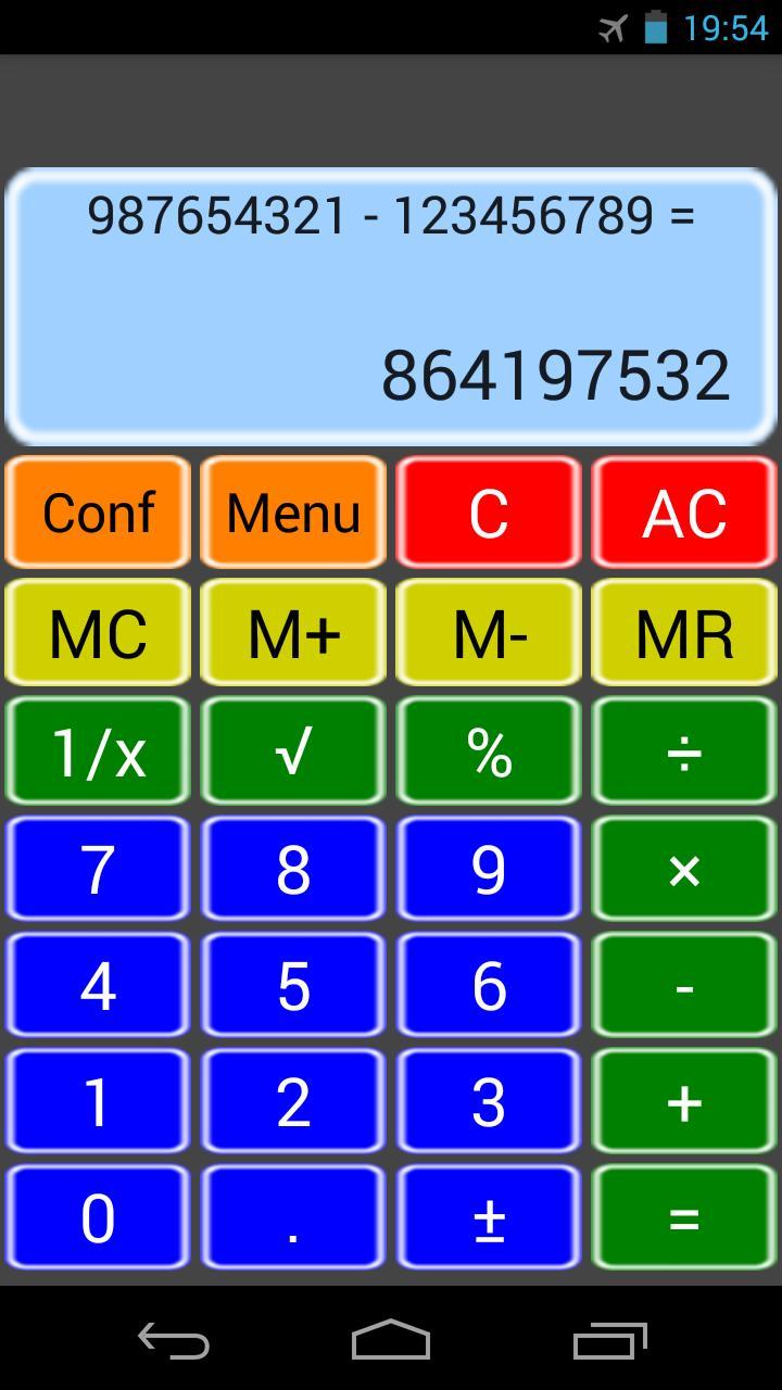 آلة حاسبة بسيطة for Android - APK Download