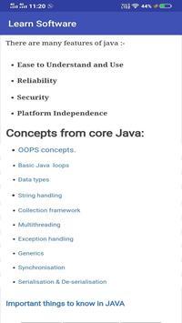 Learn Software screenshot 4