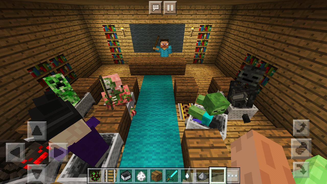 High School 2018  Monster  Minecraft PE map for Android