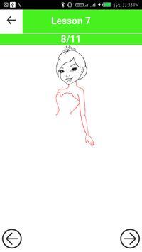 How to Draw Barbie screenshot 4