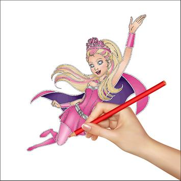 How to Draw Barbie poster