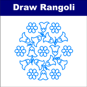 How to Draw Rangoli - Step by Step icon