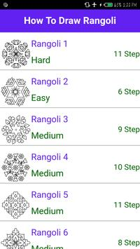How to Draw Rangoli - Step by Step screenshot 1