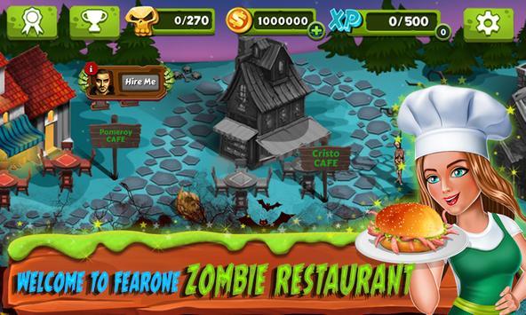 Restaurant Mania : Zombie Kitchen poster