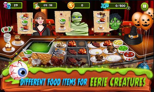 Restaurant Mania : Zombie Kitchen screenshot 12