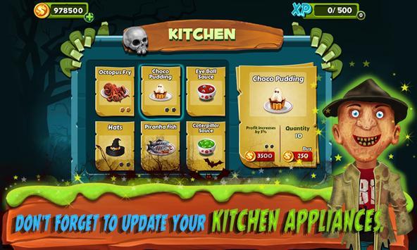 Restaurant Mania : Zombie Kitchen screenshot 9