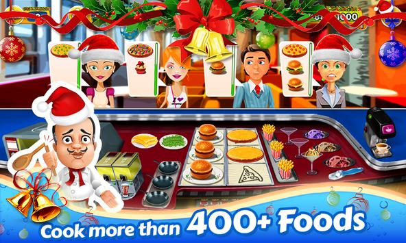 Santa Restaurant Game Memasak screenshot 6