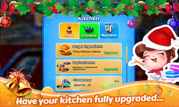 Santa Restaurant Game Memasak screenshot 13