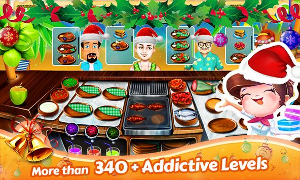Santa Restaurant Game Memasak screenshot 2
