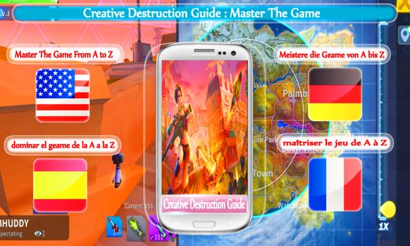 Creative Destruction Guide poster