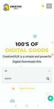CreativeUIUX poster