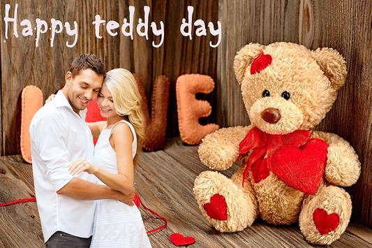 Teddy Day Photo Editor poster