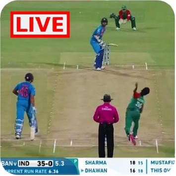 Cricket TV Live Streaming channels guide (info) screenshot 1