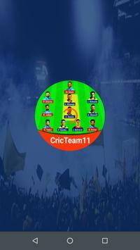 CricTeam11 poster