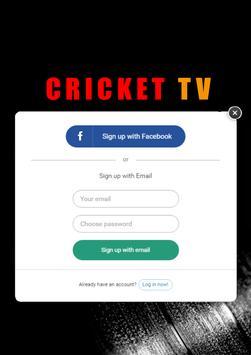 Live Cricket Tv & Live Cricket Score. Cricket Info screenshot 9