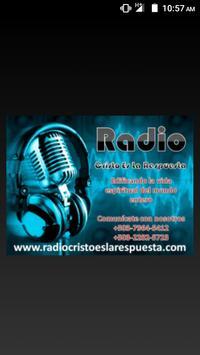 Radio Cristo Es La Respuesta poster