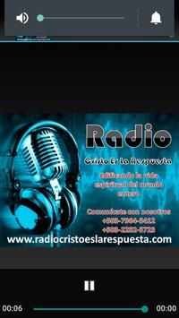 Radio Cristo Es La Respuesta screenshot 2