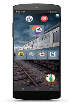 IRCTC Rail Connect plakat