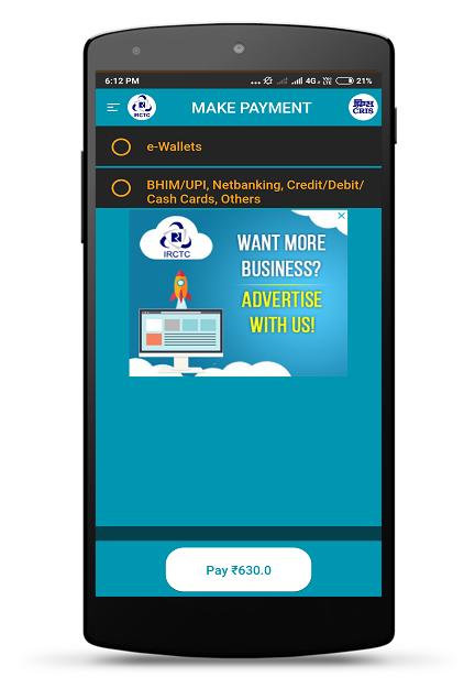IRCTC Rail Connect for Android - APK Download