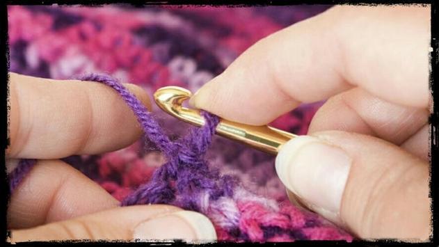 Learn to crochet step by step screenshot 6