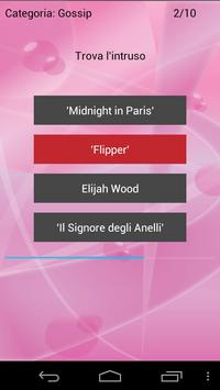 Gossip Quiz screenshot 2