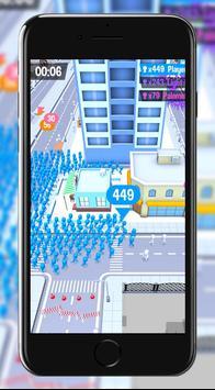 The Crowd City - The real crowd experience! Ekran Görüntüsü 3