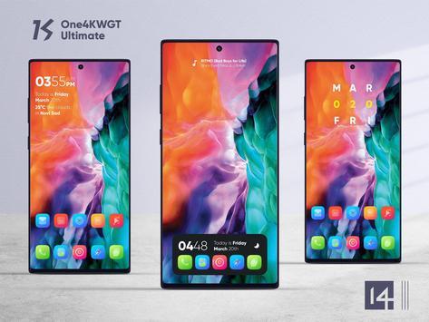 One4KWGT Ultimate - widgets for KWGT Pro Ekran Görüntüsü 3