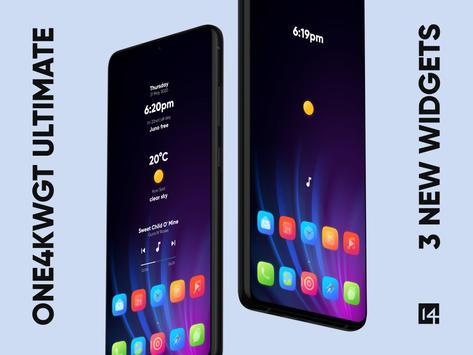 One4KWGT Ultimate - widgets for KWGT Pro Ekran Görüntüsü 1