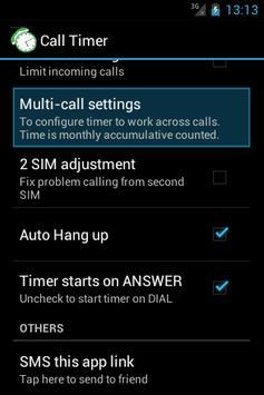 Call-Timer 스크린샷 4