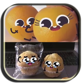 cute food- funny food icon