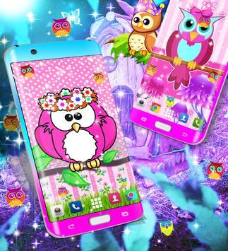 Owl live wallpaper screenshot 11
