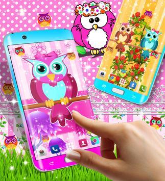Owl live wallpaper screenshot 6
