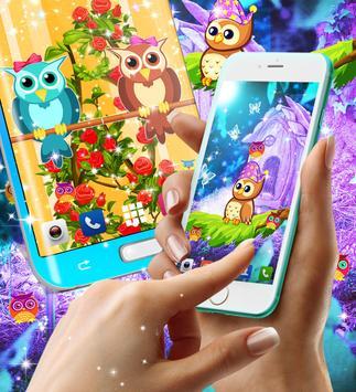 Owl live wallpaper screenshot 9
