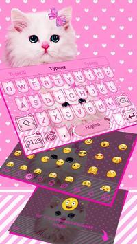 Cute Pink Bow Kitty screenshot 3