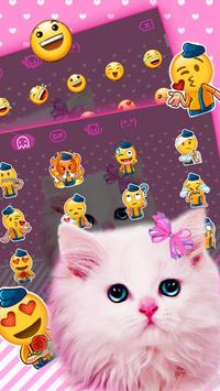 Cute Pink Bow Kitty screenshot 1