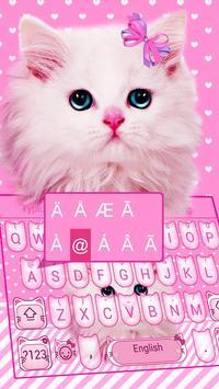 Cute Pink Bow Kitty screenshot 2