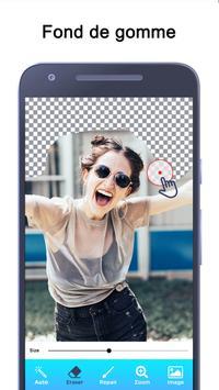 Gomme de fond - Gomme magique et fond transparent capture d'écran 13