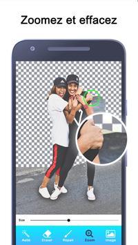 Gomme de fond - Gomme magique et fond transparent capture d'écran 9