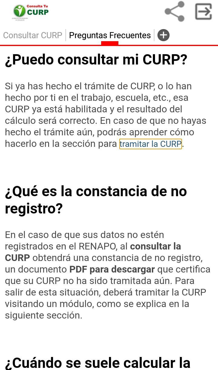 Curp Consulta For Android Apk Download