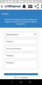 CVExpress Empresarial 24 Horas screenshot 2