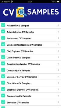 CV Samples screenshot 5