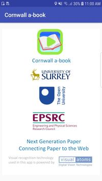 Cornwall a-book poster