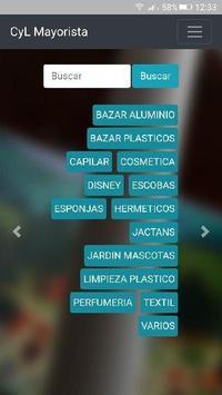 CYL Mayorista de productos de cosmética y limpieza poster