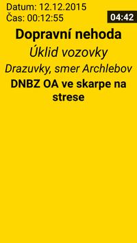 Hasiči - Výjezdová SMS screenshot 1