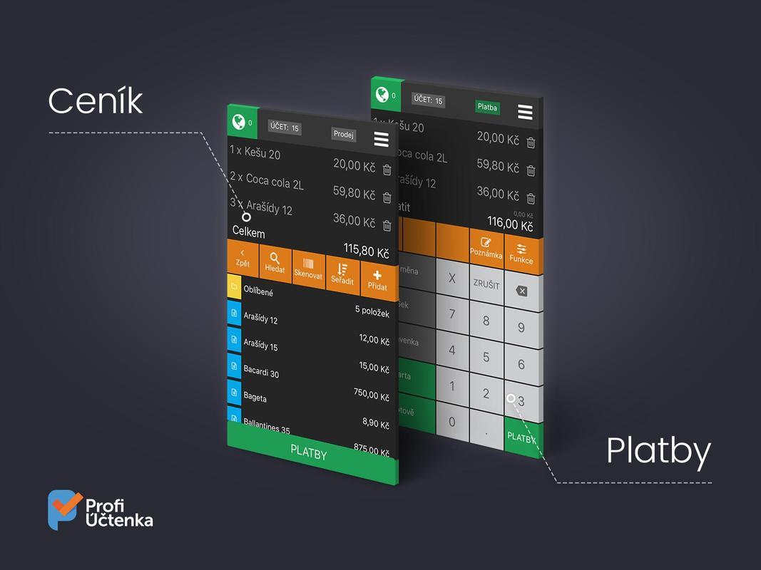 Profi Uctenka For Android Apk Download