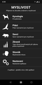 Czech hunting license (Myslivost poznavacka) screenshot 8