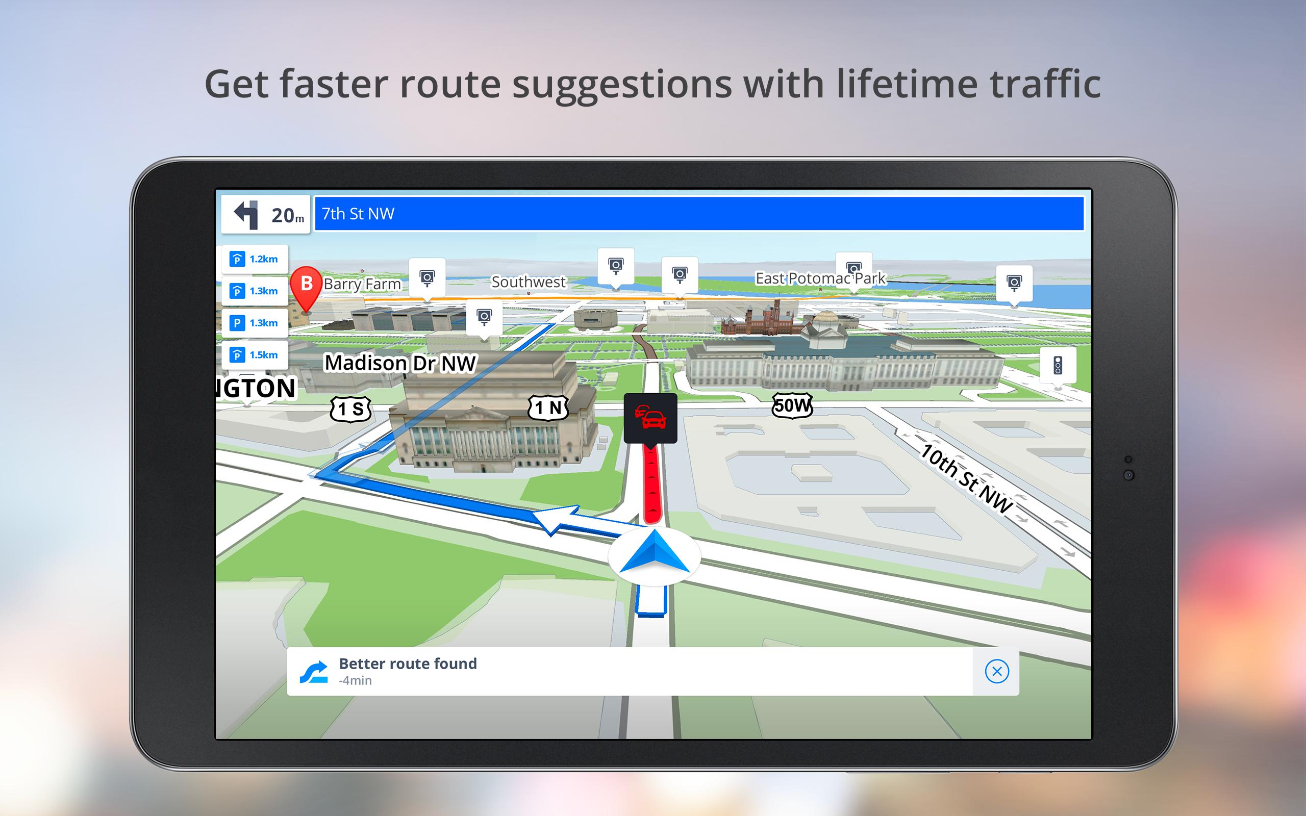 gps navigation software for android free download