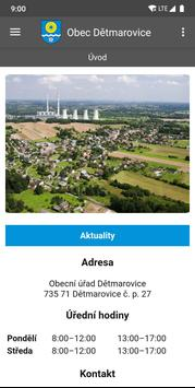 Obec Dětmarovice screenshot 1