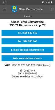 Obec Dětmarovice screenshot 7